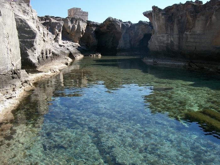 Apulian coast italian destination weddings - Piscina naturale puglia ...