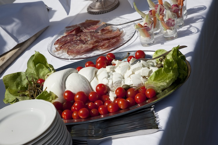 Wedding in Italy - catering