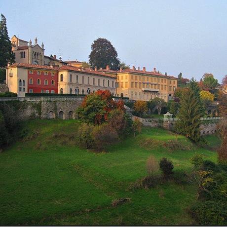 The Città alta, or high city, of Bergamo