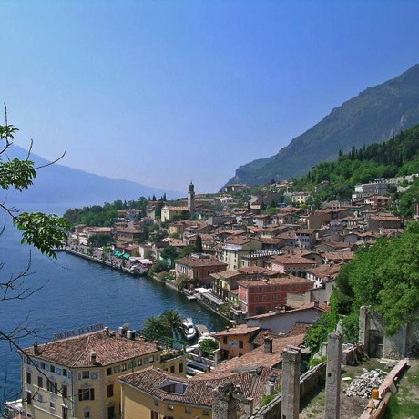 View over Limone