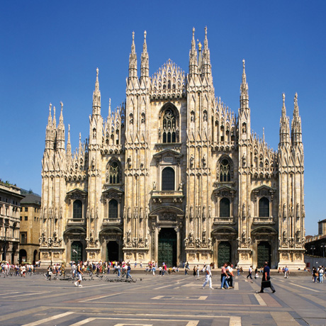 The cathedral of Milan, the Duomo