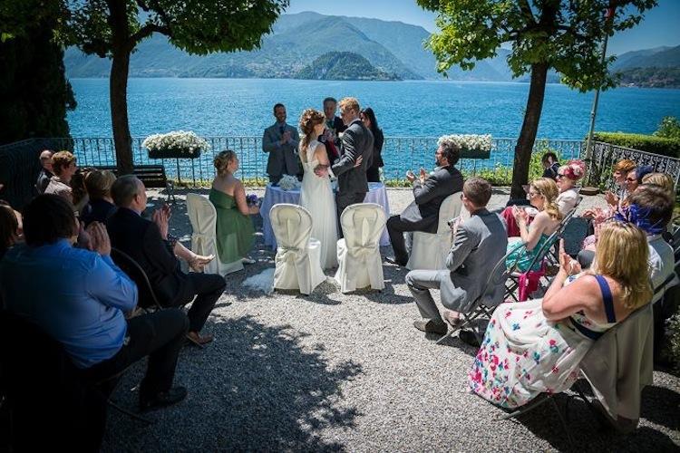 Wedding in Italy - Civil wedding on lake como
