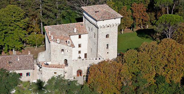 Ancient Gubbio's Castle