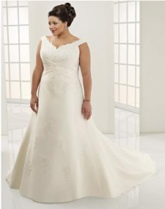 Wedding Dress Plus-Size Body Types