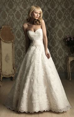 Wedding Dress for a petite figure
