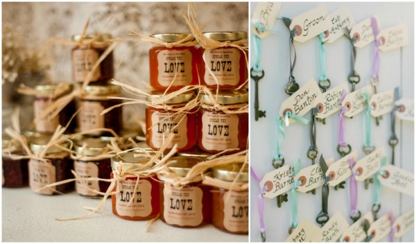 Wedding Favor Country chic theme