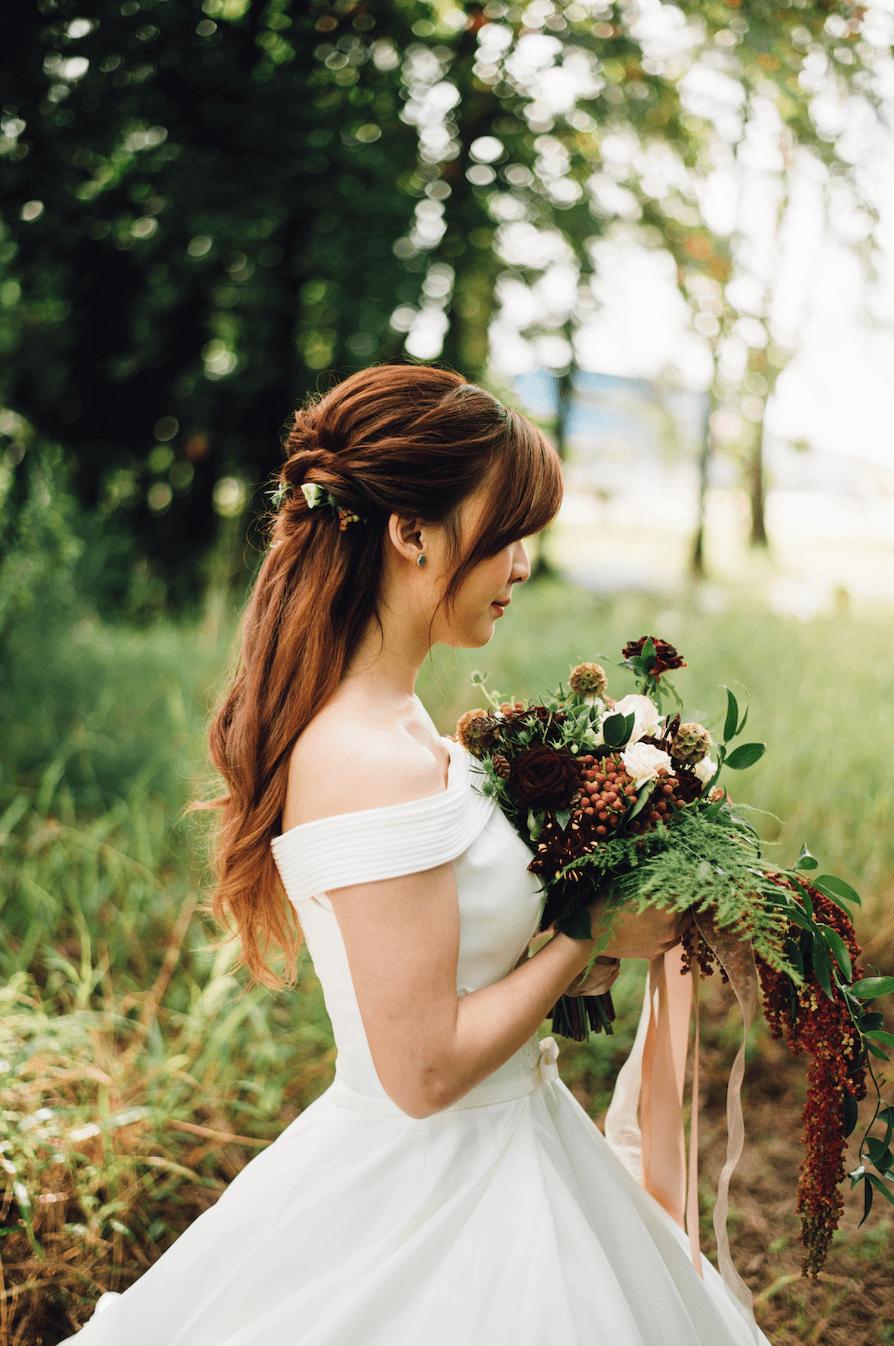 Zero-waste bridal gown.