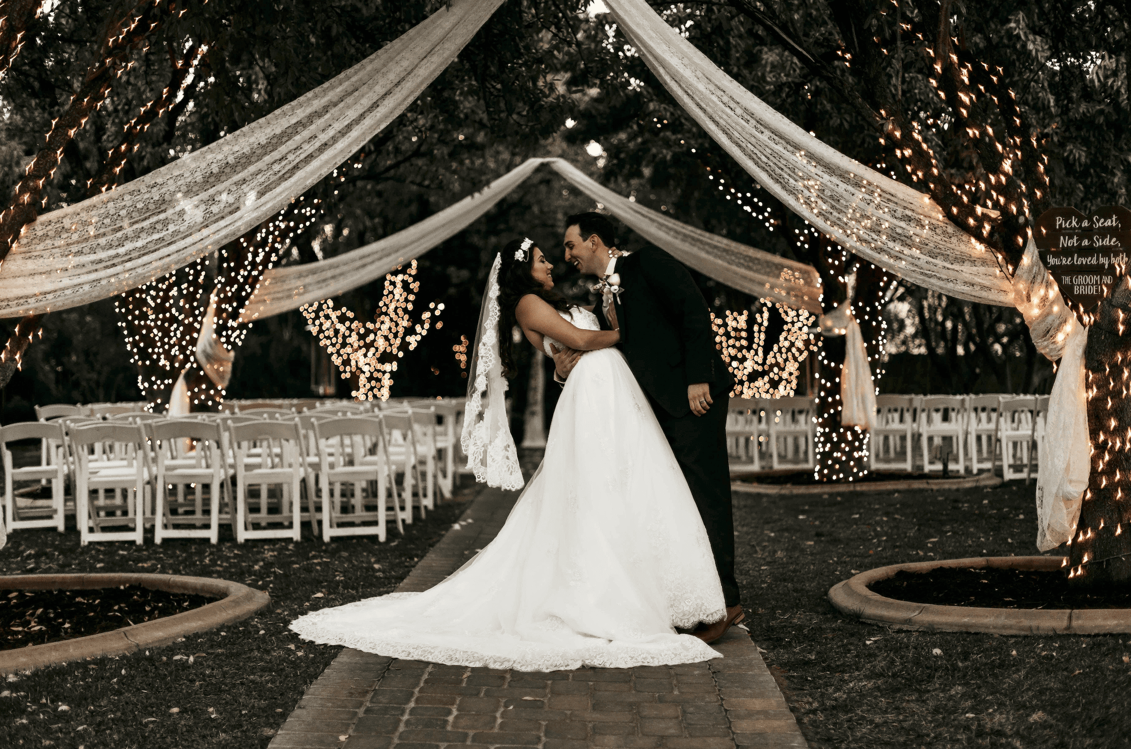 Wedding lighting is much more than just a stylistic element